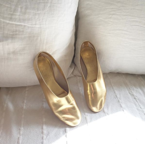 Gold shoes trend 2016