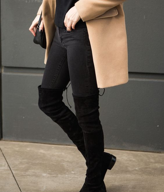 high-knee-suede-boots-outfit