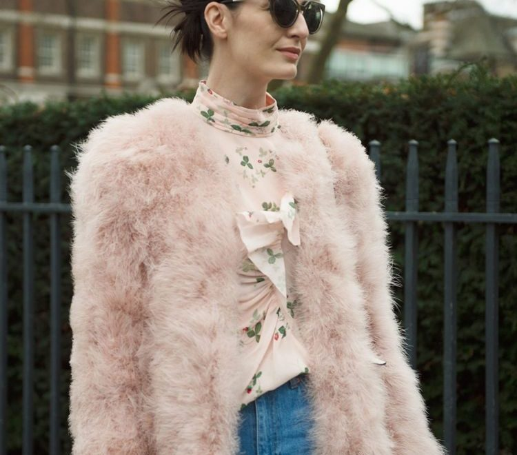 winter pink outfit trends fall winter 2016 2017